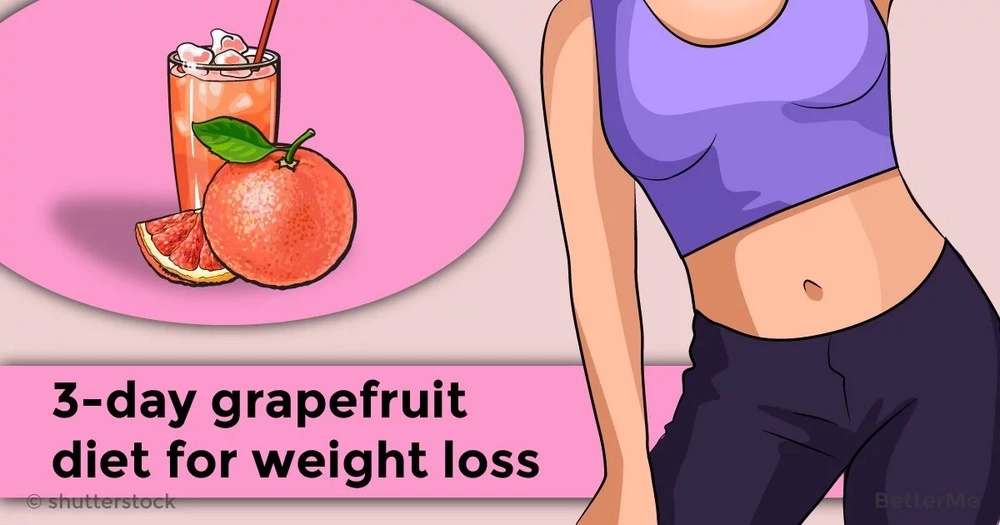 A 3-day grapefruit diet for weight loss