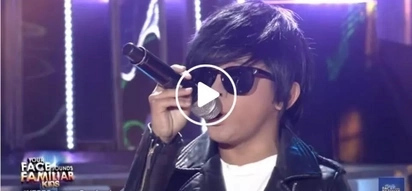 Awra makes audience fall in love with his Daniel Padilla impersonation in 'Your Face Sounds Familiar'