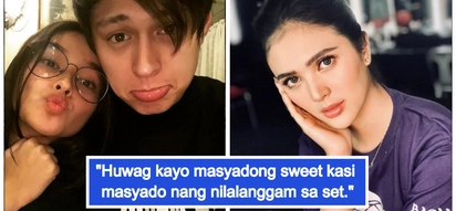 Nagseselos o naiinggit? Sofia Andres warns LizQuen not to be too sweet on set
