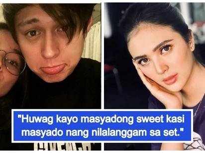 Nagseselos o naiinggit? Sofia Andres warns LizQuen not to be too sweet on set