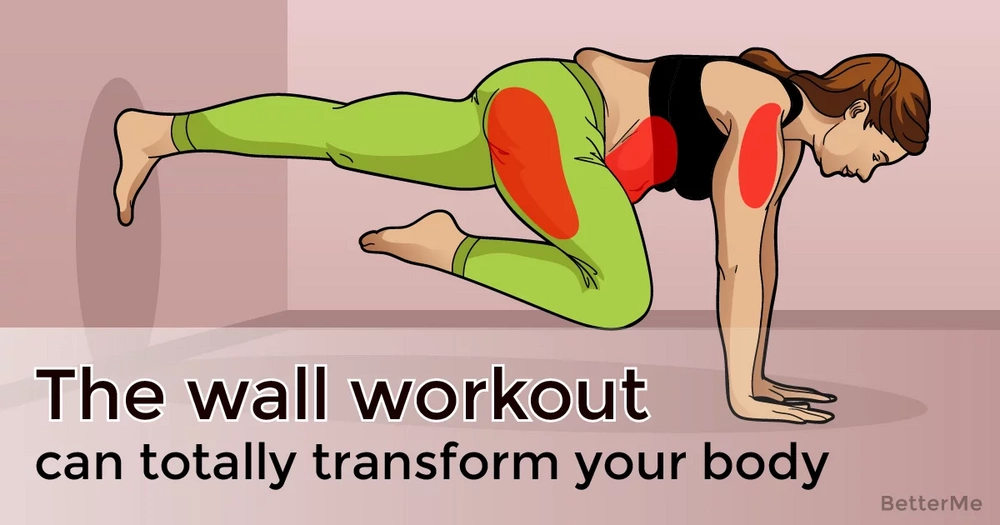 The wall workout can totally transform body