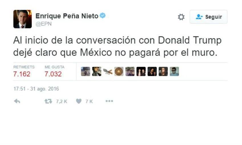 No sueñes Trump: México no pagará el muro