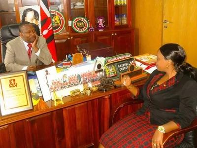 Huyu ndiye mamake PASTA mrembo wa Seneta Mike Sonko (picha)