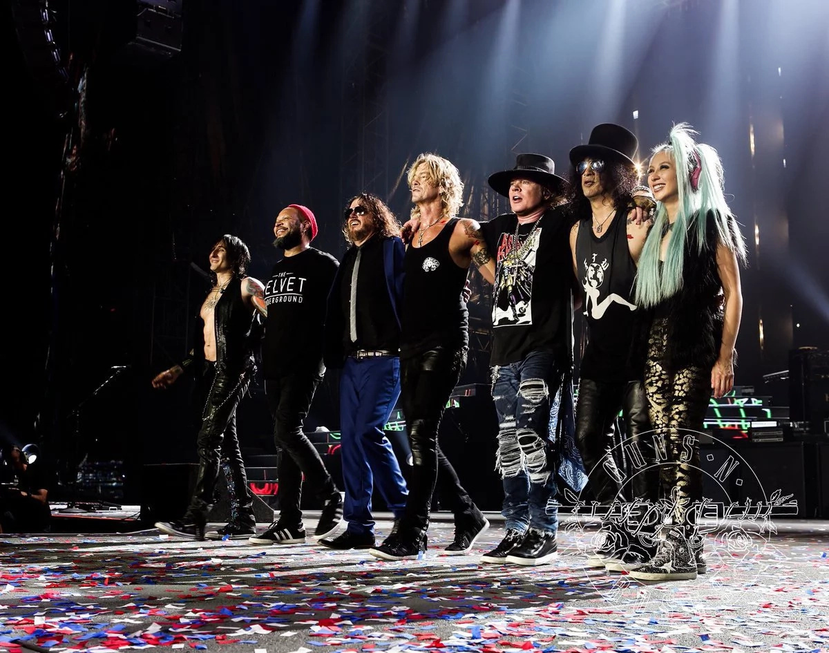 Lista boletería para Guns N' Roses