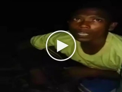 Brave Pinoy citizen confronts knife-wielding Aeta thief hiding in his house in Olongapo City