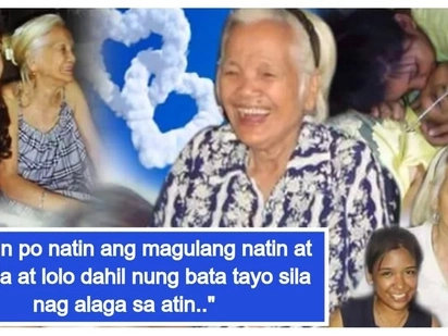 Sana lahat ng apo kagaya mo! A touching story of a granddaughter who quit her job to be able to look after her beloved Lola