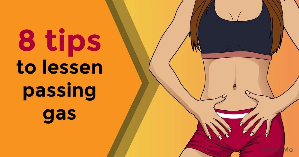 8 tips to lessen passing gas