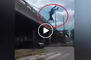 Meet the real-life Spiderman! Pinoy caught pulling off dangerous stunts without safety gears in viral Facebook video