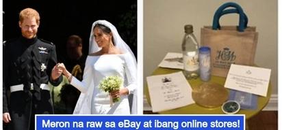 Ilang bisita sa Royal wedding nina Prince Harry at Meghan Markle, binibenta ang giveaways sa halagang 70,000PHP