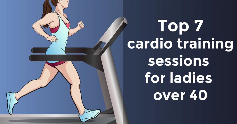 Top 7 cardio training sessions for ladies over 40
