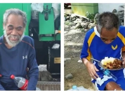 Nakakadurog ng puso! Homeless veteran of Air Force finally gets help from authorities