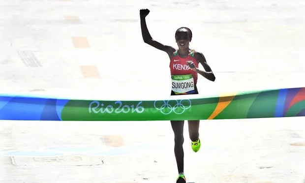 Kenya wins its first gold medal at the Rio Olympics