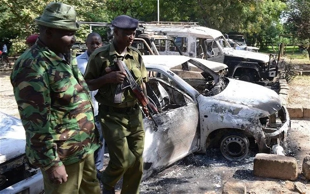 Al-Shabaab militants attack police station