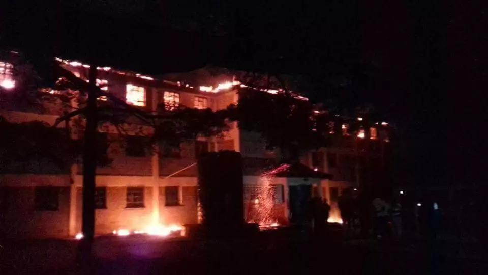 Angry Butula boys students burn down dormitory