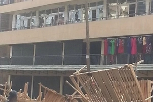 Businesses in Eastleigh affected after hawkers cause chaos (photos)