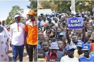 """""""TAKATAKA"""" - Raila amshambulia vibaya mbunge aliyekuwa anampinga bintiye"""