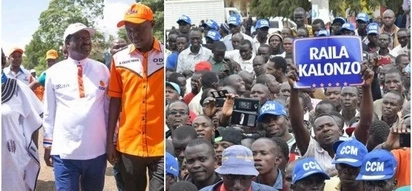 Waititu amwonya Raila kabla ya kampeni ya NASA Thika