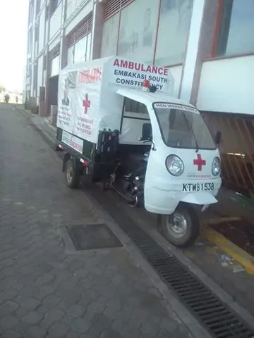 Kenyans in uproar over newly bought ambulances in Embakasi
