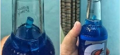 Netizen outraged by a straw he found inside unopened bottle of famous energy drink
