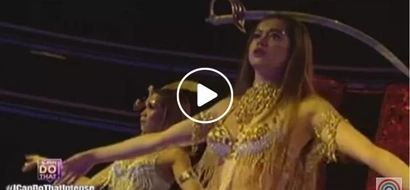 Pokwang and Sue Ramirez sizzle in their jaw-dropping belly dancing performance in 'I Can Do That'