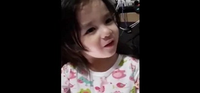 "Baby Maxim Dandan munching ""hopiang monggo"" in this viral video is the cutest little girl we've ever seen!"
