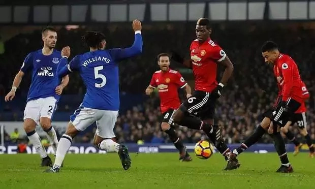 Martial, Lingard on target as Manchester United destroy stubborn Everton to go second on the log
