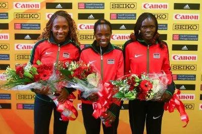 Kenya in 1-2-3 in Cardiff half marathon championship