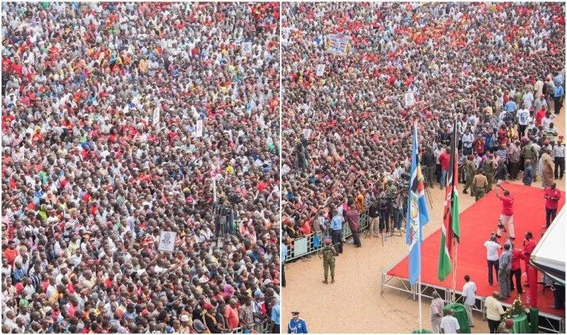 Picha za mkutano wa chama cha Jubilee mjini Mombasa zitakushangaza
