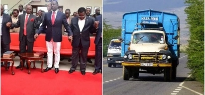 Machakos lorry driver who blocked DP Ruto's convoy punished