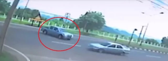 Human spirit caught on CCTV while leaving woman's body