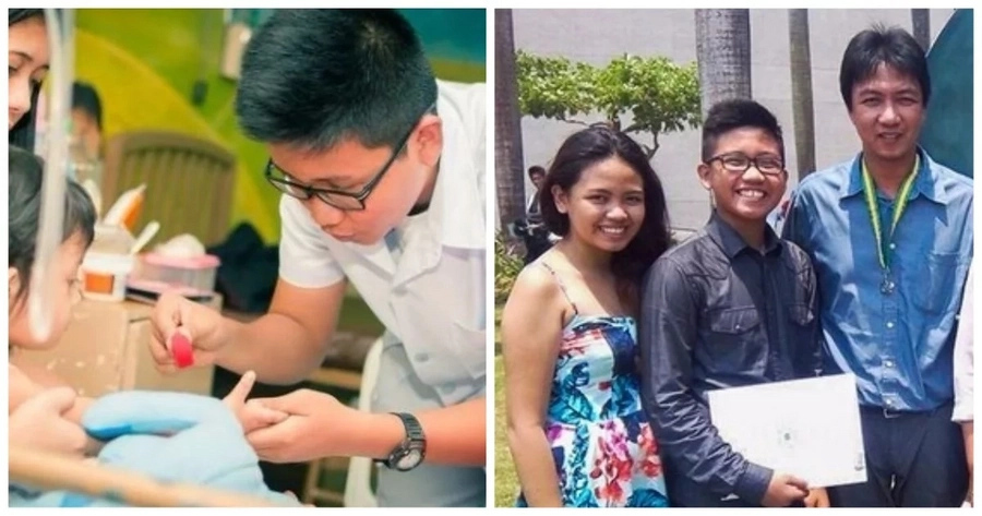 This Pinoy student who sells customized t-shirts later becomes a FEU summa cumlaude graduate!