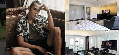 Inside Tour: Sneak peek into Jake Cuenca's masculine 2-bedroom condo unit in Mandaluyong