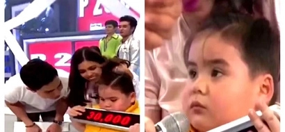 "Binuking ng bata! Baeby Baste drove the ""Eat Bulaga"" audience wild by stating that Alden Richards & Maine Mendoza are in a real romantic relationship!"