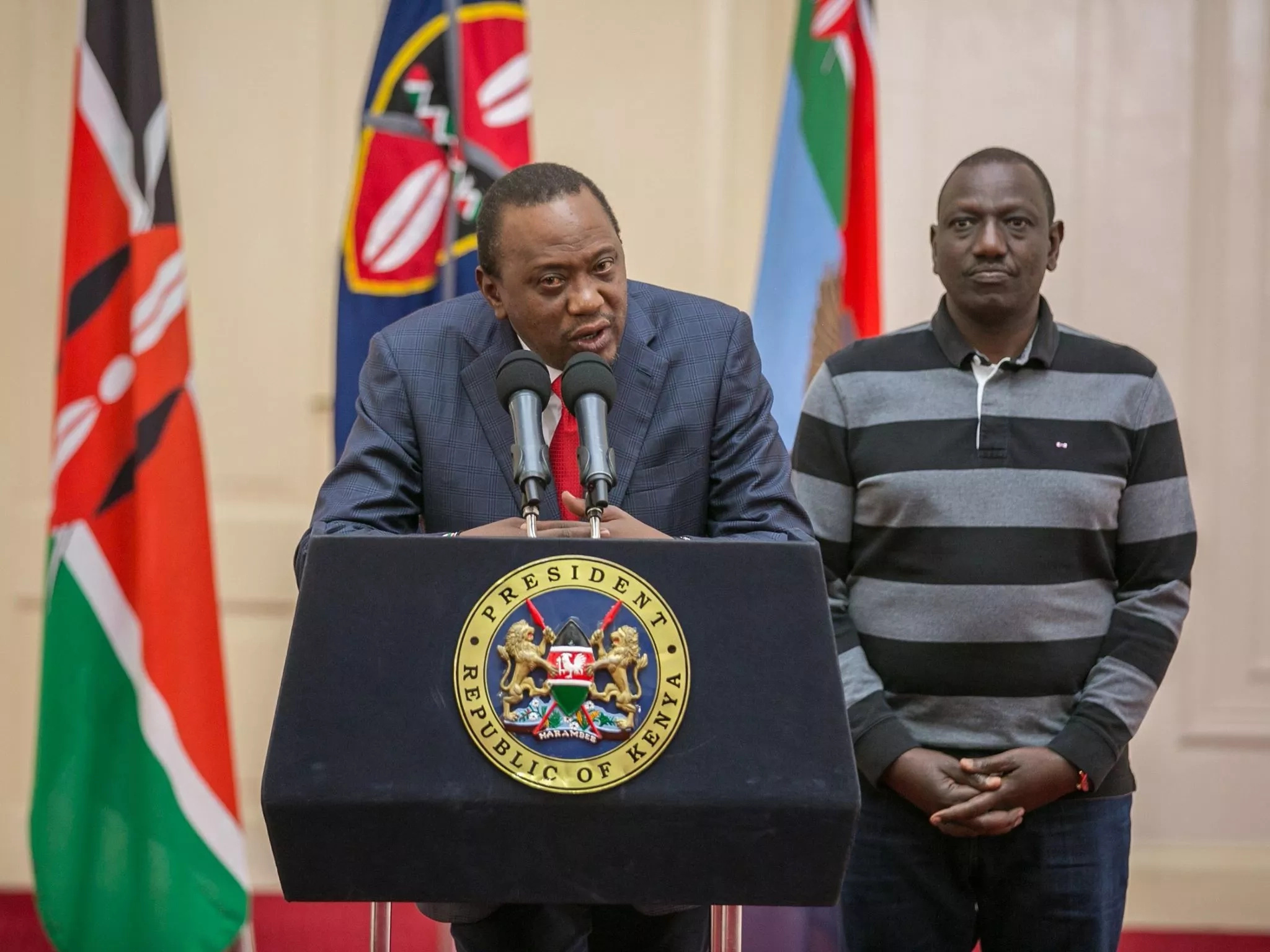 Kenya on the recovery path as opposition leaders embrace Uhuru Kenyatta's presidency