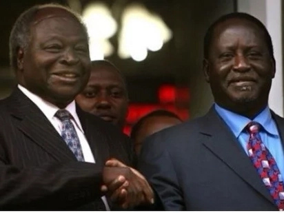 Uhuru would have succeeded Raila for president in 2022 had the opposition leader kept his word to former president Mwai Kibaki, details