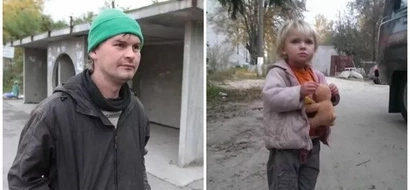 Touching! Meet homeless man who saves abandoned child (photos)