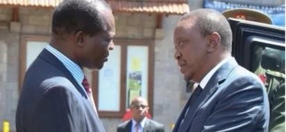 Raphael Tuju azungumza baada ya Raila kula kiapo kuwa Rais wa Wananchi
