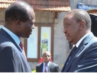 Raphael Tuju's cousin who threatened to kill him for supporting Jubilee released