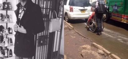 See the touching thing this young Kenyan did for a disabled man (photos)