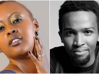 Mama Baha raises suspicion after a photo of her being kissed by a hot musician emerged