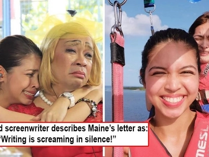 Gusto na pala niyang tumiwalag? Acclaimed screenwriter sees through Maine Mendoza's open letter as a cry to break off from 'Aldub' tandem!