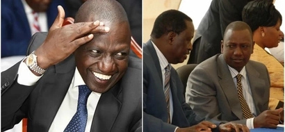 William Ruto and Raila Odinga bury the hatchet, become friends ahead of August 8 polls