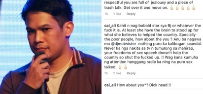 DJ Mo Twister shames basher for Instagram comment with poor English
