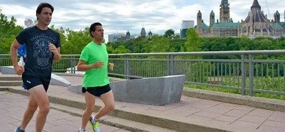 LOOK: APEC hotties Nieto and Trudeau caught jogging together