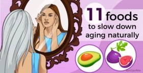 Top 11 foods that can help slow down aging naturally