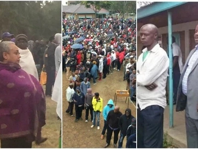 6 prominent Kenya leaders who 'humbly' queued to vote