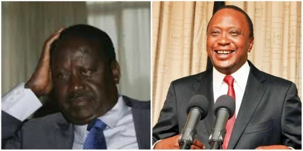 Did Raila Odinga fix Deputy President William Ruto at the ICC? President Uhuru spills the beans