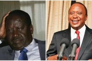 Uhuru beats Raila again in latest opinion poll