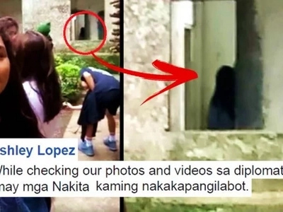 This Pinay netizen shared a video of a creepy ghost at the abandoned Diplomat Hotel in Baguio City! WATCH the terrifying clip here!