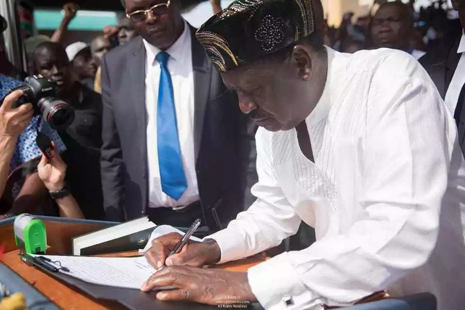 Raila's swearing-in was an attempt to overthrow the govt - CS Matiang'i